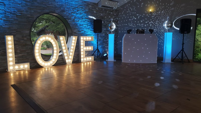 Oxnead Hall Wedding Disco